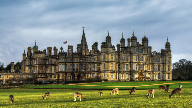 0340 - England, Stamford, Burghley House HDR