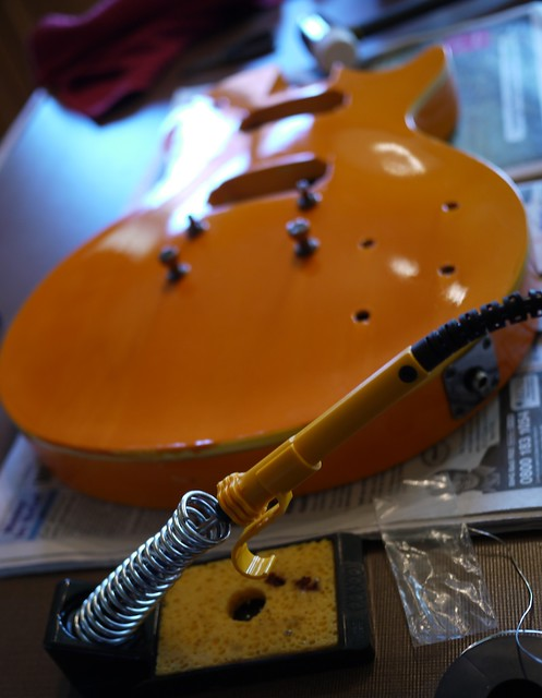 Guitar construction