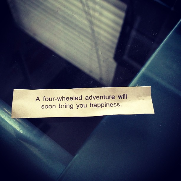 It's an old fortune but appropriate for the time. :)