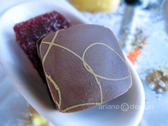 Thomas Haas truffle and berry gelée