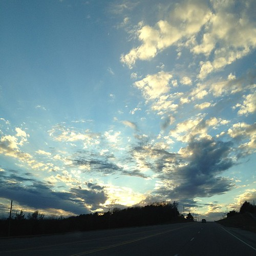 Oklahoma sky #nofilter