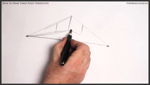 learn how to draw three point perspective 002