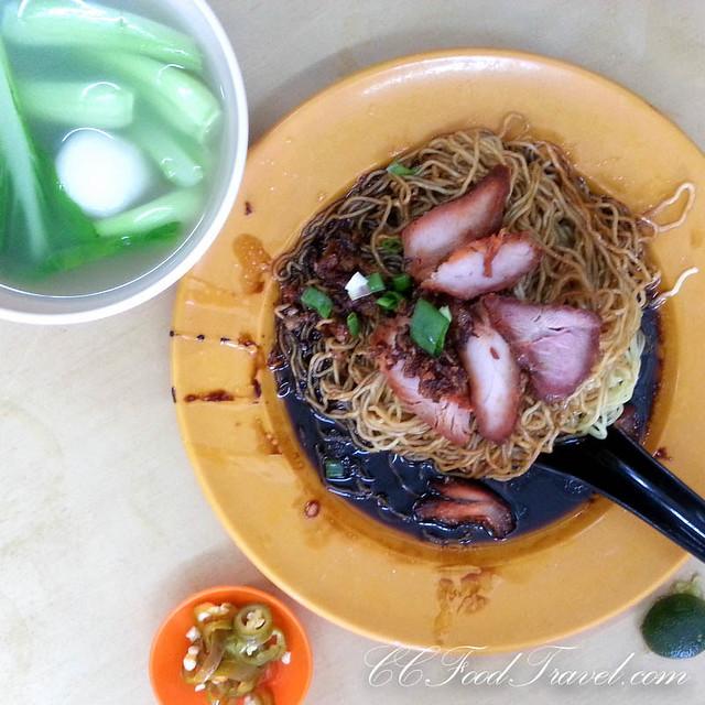 wantan noodles at sei ngan chai