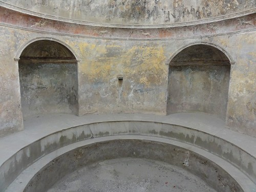 Interior of a Roman bath in Pompeii