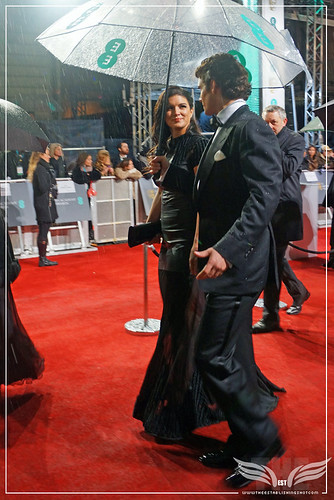 The Establishing Shot: EE BAFTAs RED CARPET  GINA CARANO & HENRY CAVILL ARRIVE by Craig Grobler