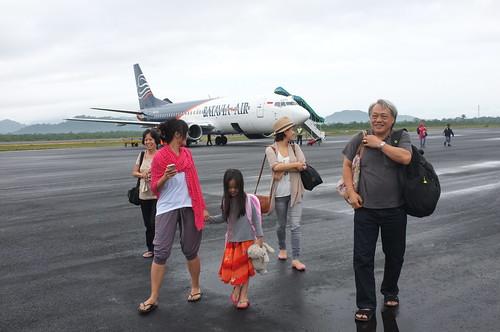 arrived at Tanjung Pandan
