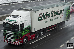 Scania R440 6x2 Tractor - PX62 CKP - Leslie Faye - Eddie Stobart - M1 J10 Luton - Steven Gray - IMG_2104