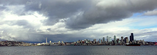 Seattle Skyline (Feb 2013)