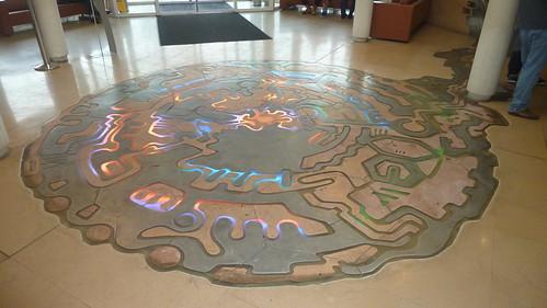 Entrada al Centro de Visitantes del CERN