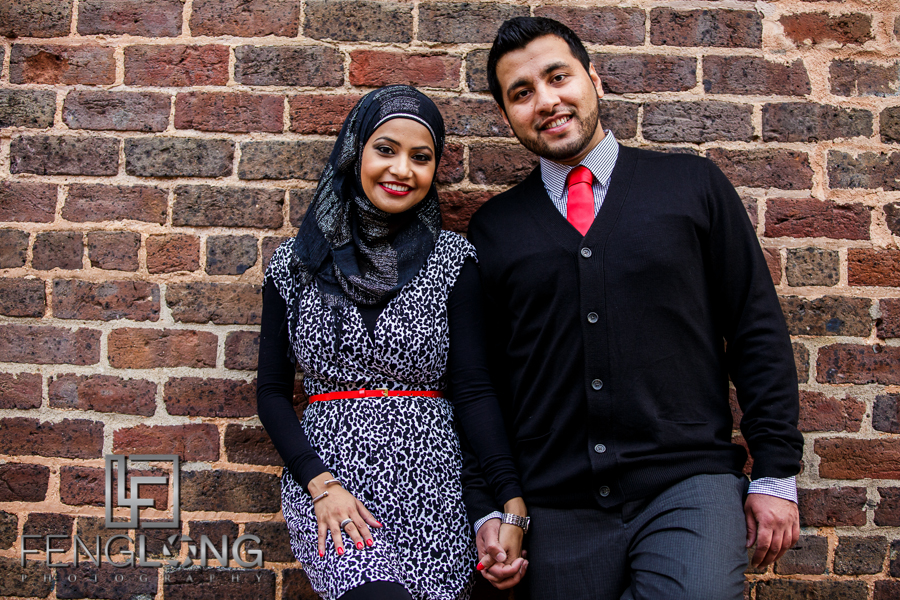 Sani & Javed's Engagement Session | Roswell Mill | Atlanta Indian Wedding Photography