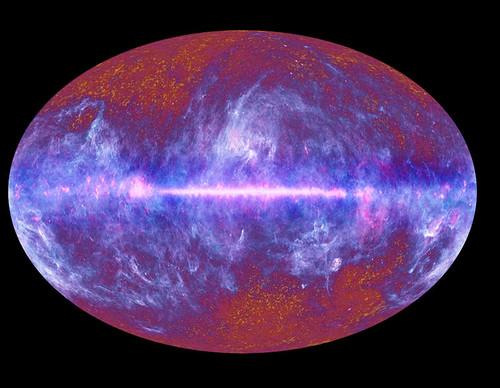 Imagen del universo por Planck