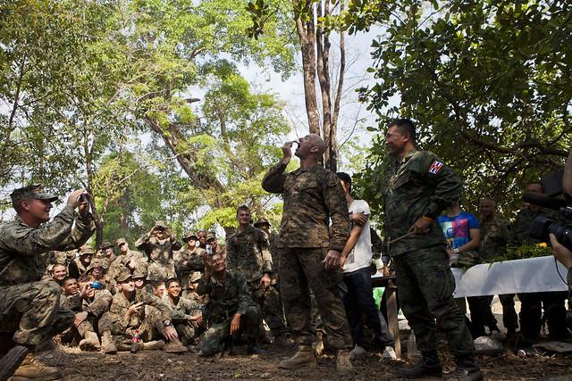 Jungle survival course thailand