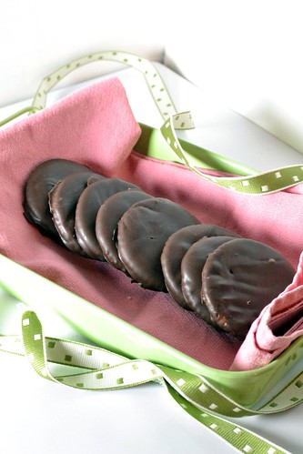 homemade girl scout cookie thin mints
