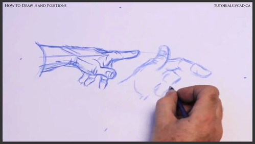 learn how to draw hand positions 007