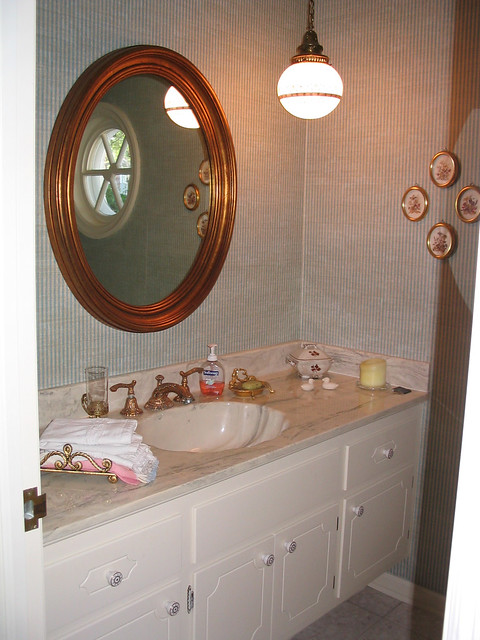 Downstairs powder room - before