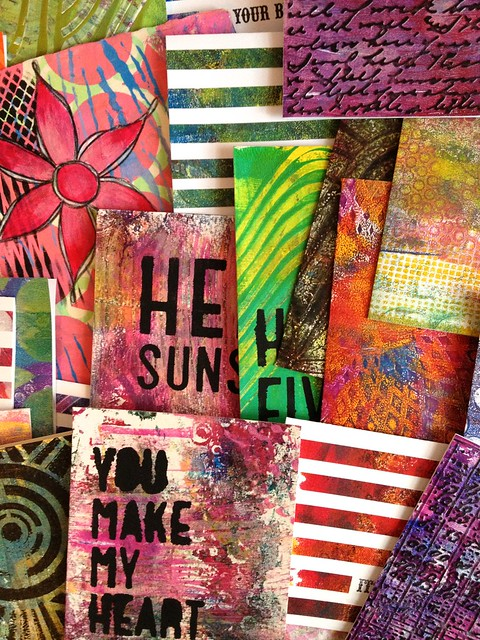 Gelli Art Projects
