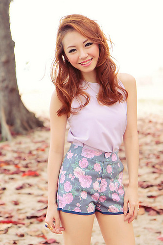 Lilac top 25sgd