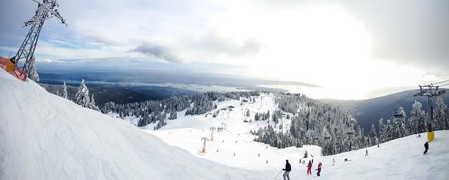 Grouse Mountain, Feb. 23, 2013