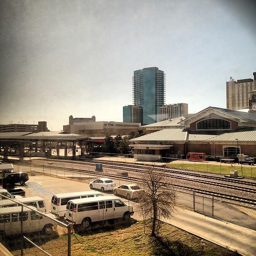 Fort Worth Amtrack station