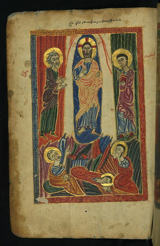 Gospel Book, Transfiguration, Walters Manuscript W.540, fol. 9v by Walters Art Museum Illuminated Manuscripts
