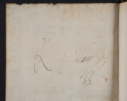 Ownership inscription in Albertus Magnus: De animalibus