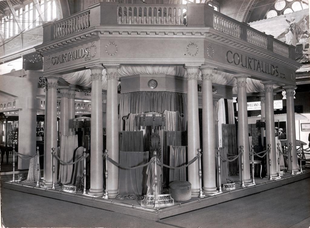 Exhibition Stand Builders Melbourne : Courtaulds ltd exhibition