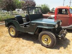 compact sport utility vehicle(0.0), jeep wrangler(0.0), automobile(1.0), automotive exterior(1.0), wheel(1.0), vehicle(1.0), jeep cj(1.0), off-road vehicle(1.0), bumper(1.0), land vehicle(1.0),