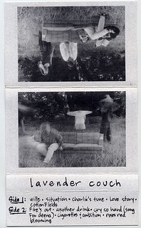 Lavender Couch tape