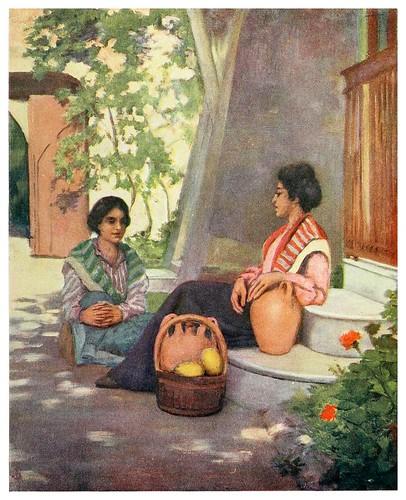006-Vendedoras de limonada en Napoles-Naples -1904- Augustine Fitzgeral