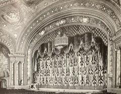 Mastbaum Theatre, Phildelphia, PA in 1929 - Proscenium arch and drapes