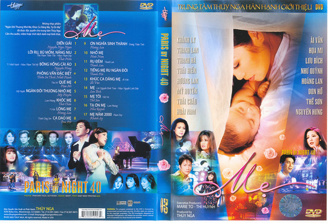 Paris by Night 40 - Mẹ DVD9 | Happy Mother's Day