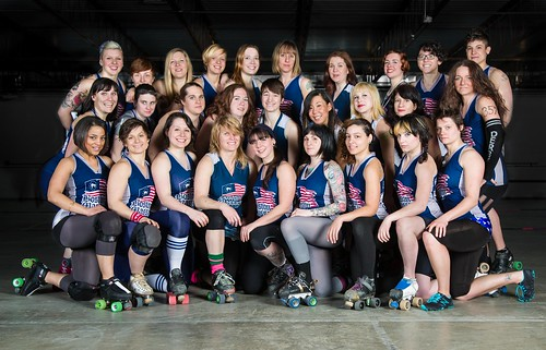 2013 Boston Derby Dames Travel Team