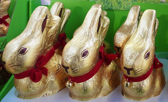 Big Easter bunnies