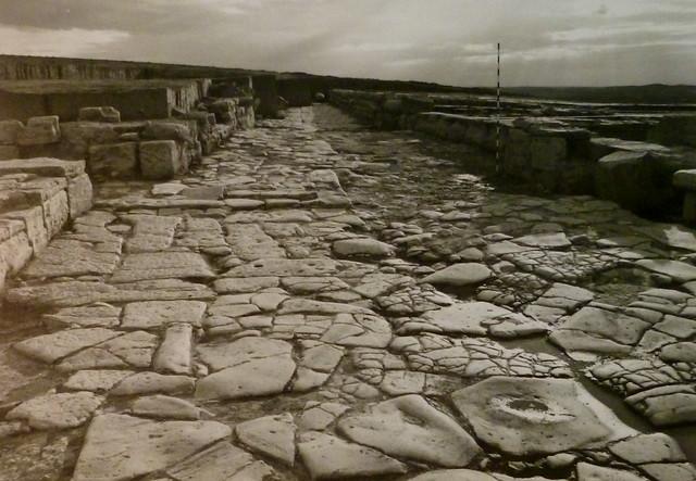 Detalle de la calle empedrada (Obvlco, 1989)