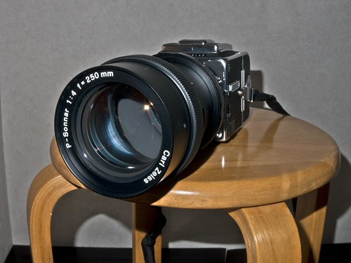 Hasselblad 2000FC/M with P-Sonnar 250mm f4