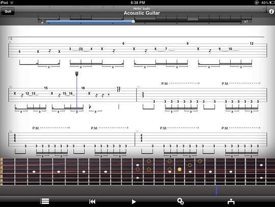 Guitar Pro iPad