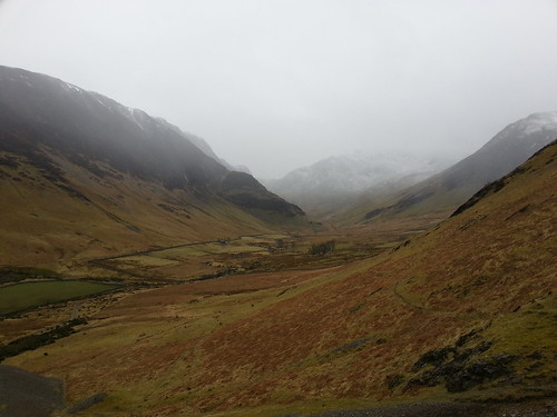 Newlands - Looking Up Scope Valley