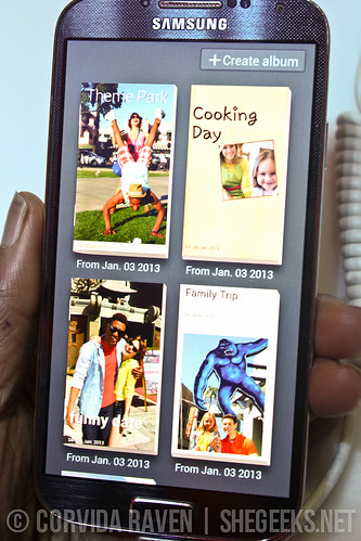 Samsung Galaxy S4 - Story Albums
