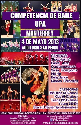 Campeonato Intercolegial de Baile UPA Nuevo León