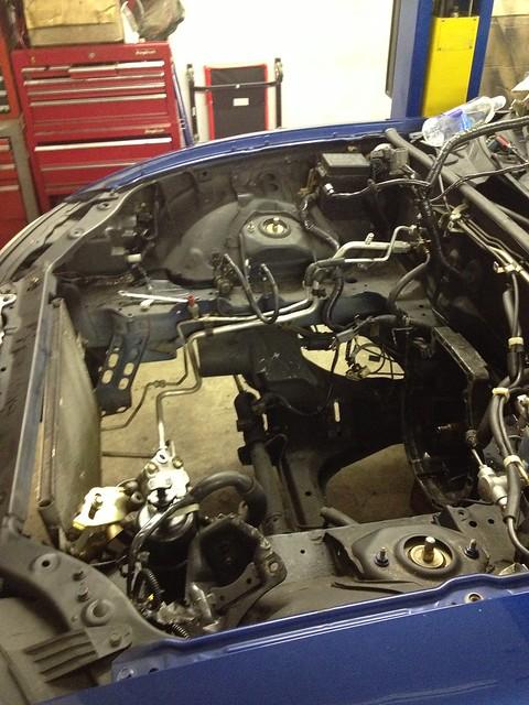 K24 Miata swap    finally a reality - K20A org  :  The K
