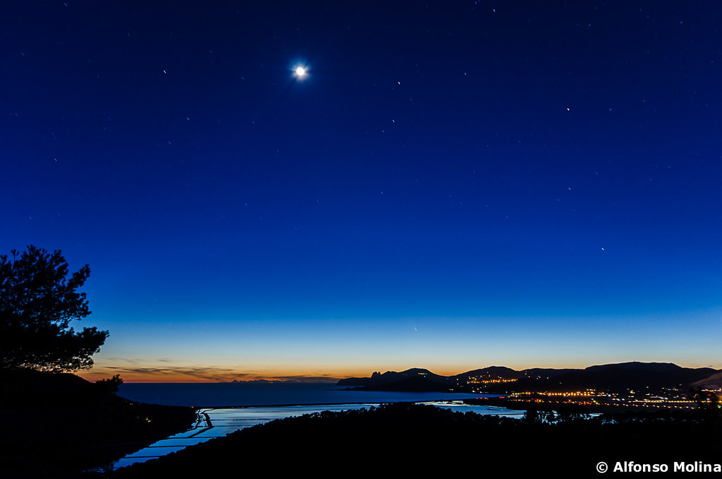 la noche del cometa