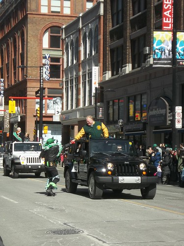 Rob Ford in the St. Patrick's Day Parade (1)