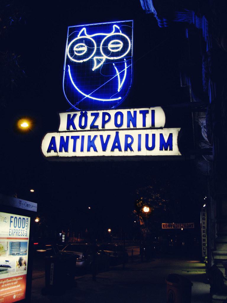 központi antikvárium, budapest