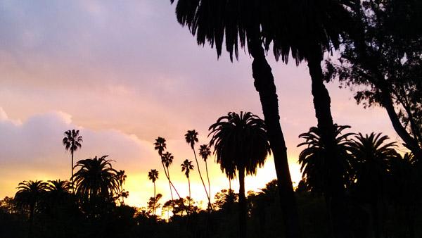 Sunset at Echo Park
