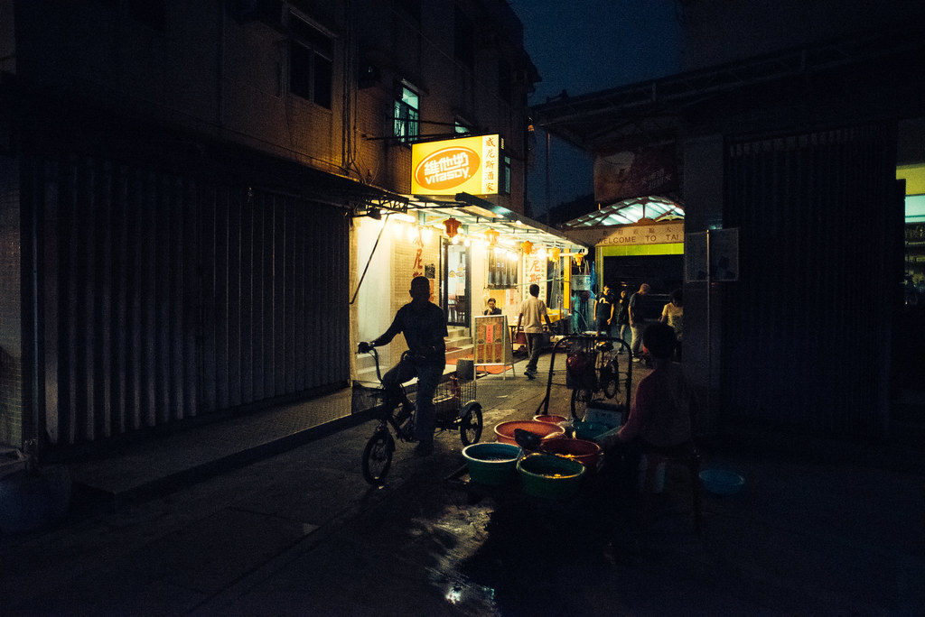 Tai O Village Night Biking