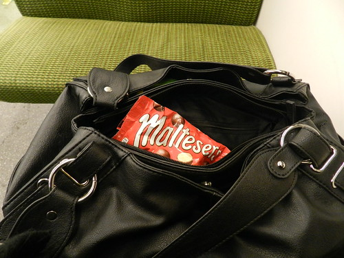 Galway day-trip - On the DART with Maltesers..