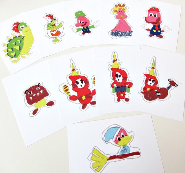 paper mario sticker star shiny stickers - photo #21