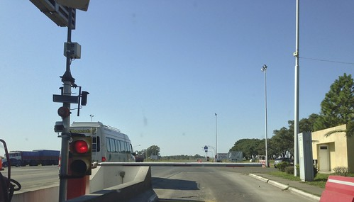 Toll booth (LOTS of them!)