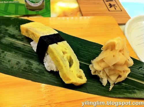 Egg nigiri