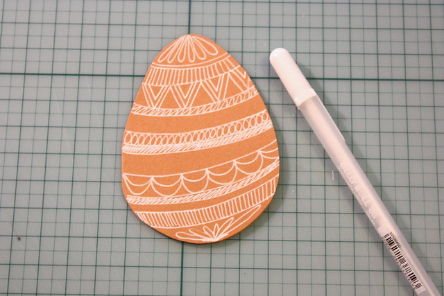 Simple DIY Easter cards